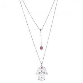 Collana donna collezione Notre Dame rosa