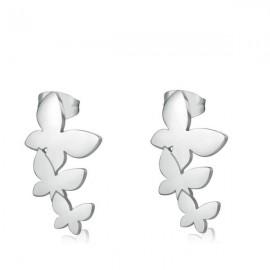 Orecchini S'Agapò collezione Trio a farfalla