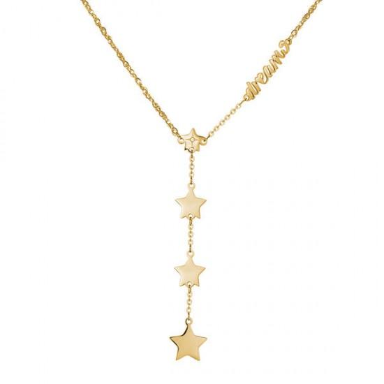 Collana S'Agapò collezione Fancy stella-dream dorato