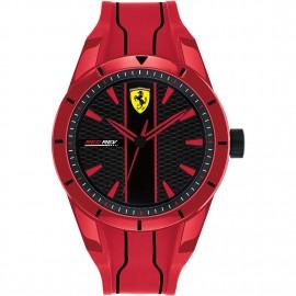 orologio scuderia ferrari redrev red
