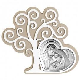 Icona Beltrami albero della vita con sacra famiglia
