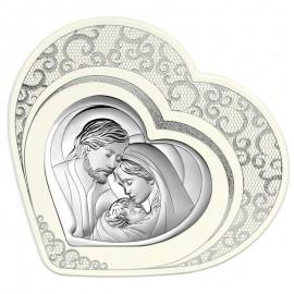 Icona a cuore Beltrami Sacra Famiglia
