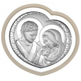 Icona cuore Beltrami Madonna Sacra Famiglia