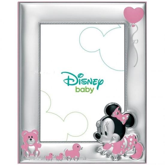 Porta Foto baby Minnie con paparelle