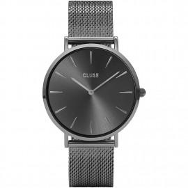 orologio cluse la bohème mesh dark grey