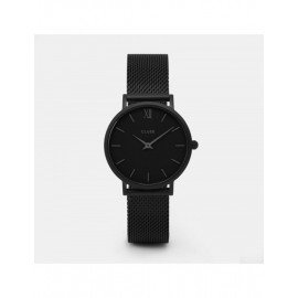 orologio cluse minuit mesh full black