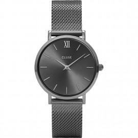 orologio cluse minuit mesh dark grey