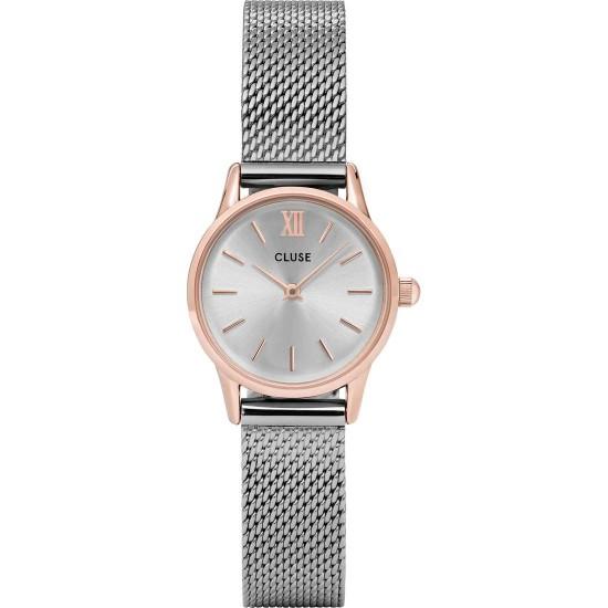 orologio cluse la vedette mesh rose gold/silver