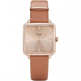 orologio cluse la tétragone rose gold/butterscotch