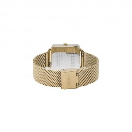 orologio cluse la tétragone mesh gold/forest green