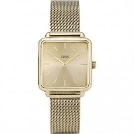 orologio cluse la tétragone mesh full gold
