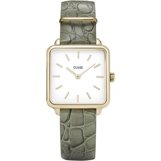 orologio cluse la tétragone gold white/green alli