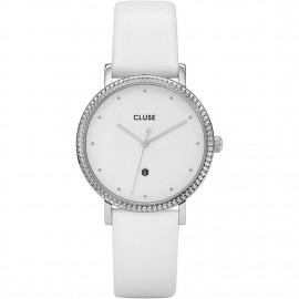orologio cluse le couronnement silver white/white