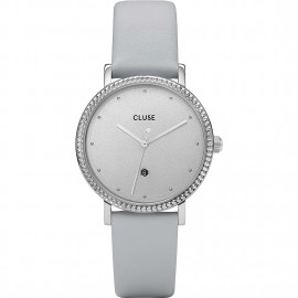 orologio cluse le couronnement silver/soft grey