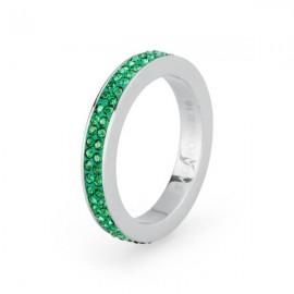 Anello S'Agapò pietre smeraldo