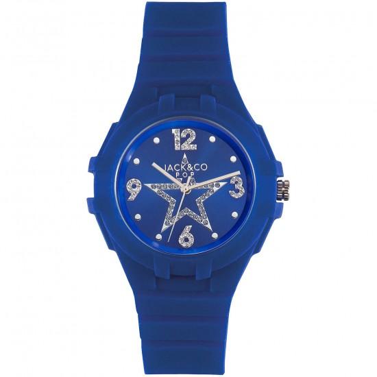 Orologio Jack&Co Margherita blu 2