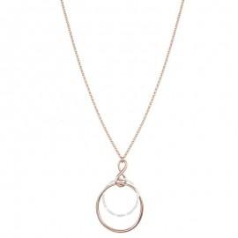 Collana Donna Stroili Oro Couture ottone cerchio