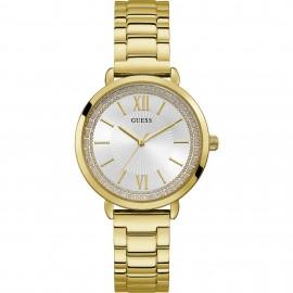Orologio donna Guess dorato e cristalli