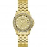 Orologio donna Guess dorato e cristalli glietter