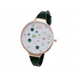 Orologio donna Think Positive Nero Fantasy Verde Acqua