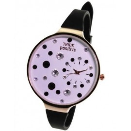 Orologio donna Think Positive Star Dust Nero