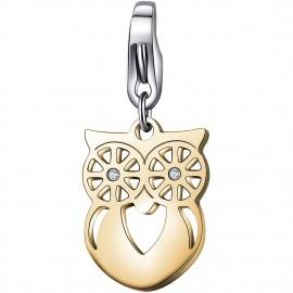 charm s'agapõ gufo oro collezione happy