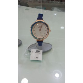 Orologio Donna Think Positive Crystal Blu