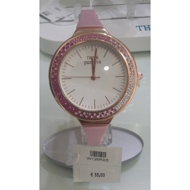 Orologio Donna Think Positive Crystal rosa