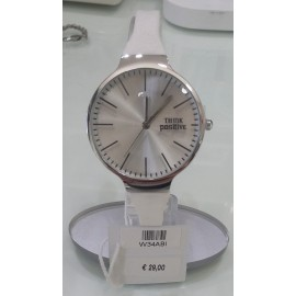 Orologio donna Think Positive Essential bianco