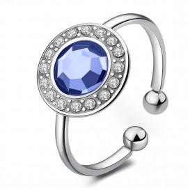 anello s'agapõ light sapphirecry collezione luna