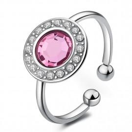 anello s'agapõ light rosecristal collezione luna