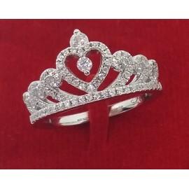 Anello Corona argento