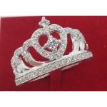 Anello Corona in argento