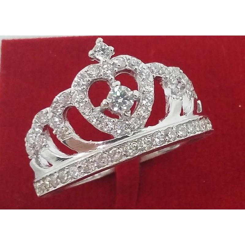 new product e8a64 0ea5f Anello Corona in argento - Gioie Gioielli SrlS