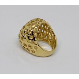 Anello donna in argento 925/1000 dorato