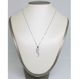 Collana con corno in argento 925/1000 CCA01